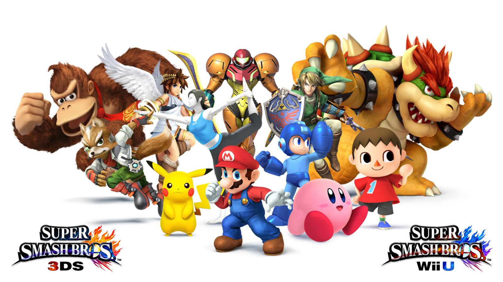 Super Smash Bros For Wii U Wallpaper Krash